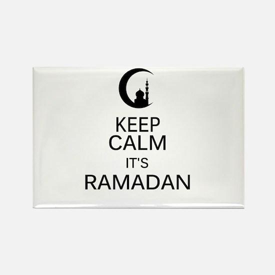 Funny Ramadan mubarak Rectangle Magnet