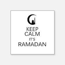 "Funny Ramadan Square Sticker 3"" x 3"""