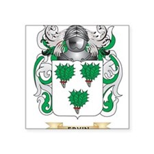 Ervin Coat of Arms Sticker