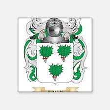 Ervin Coat of Arms Sticker