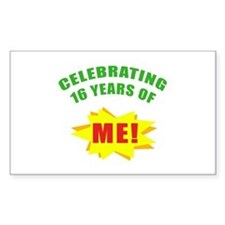 Celebrating Me! 16th Birthday Decal