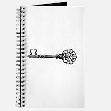Old Vintage Key Journal