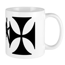 Lineworker on Iron Cross Mug