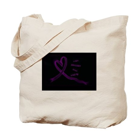 Rise Against Domestic Violence Tote Bag
