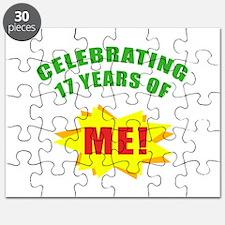 Celebrating Me! 17th Birthday Puzzle