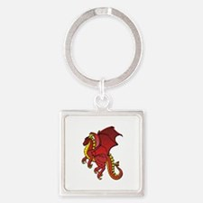 Red Dragon Keychains