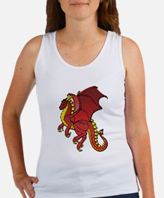 Red Dragon Tank Top