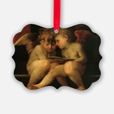Cherubs Reading by Fiorentino Ornament