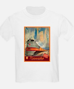 Hiawatha, 1937 Kids T-Shirt