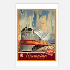 Hiawatha, 1937 Postcards (Package of 8)