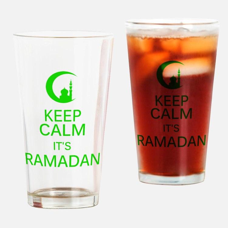 Cute Ramadan Drinking Glass