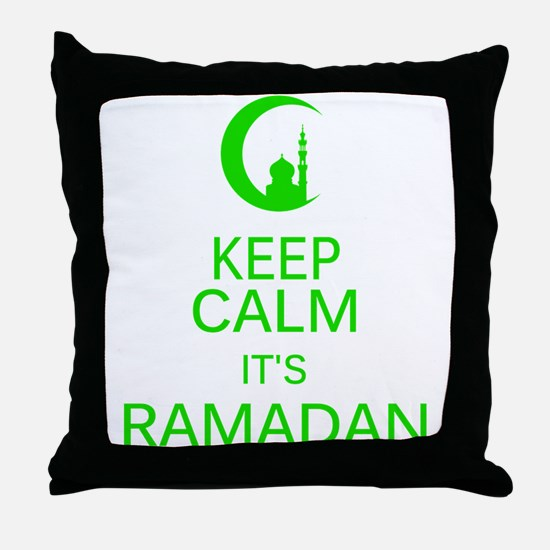 Funny Ramadan Throw Pillow