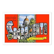 Sacramento California Greetings Postcards (Package
