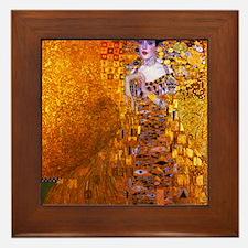 Klimt: Adele Bloch-Bauer I. Framed Tile