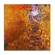 Klimt: Adele Bloch-Bauer I. Tile Coaster