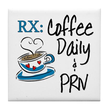 Funny Rx - Coffee Tile Coaster