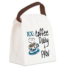 Funny Rx - Coffee Canvas Lunch Bag