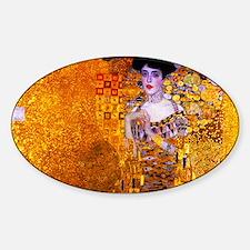 Klimt: Adele Bloch-Bauer I. Sticker (Oval)