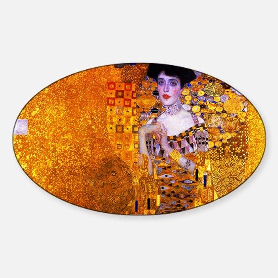 Klimt: Adele Bloch-Bauer I. Sticker (Oval)