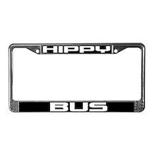 Hippy Bus License Plate Frame