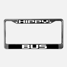 Hippy Bus License Plate Frame