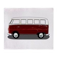 Hippy Bus Throw Blanket