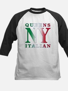 Queens New York Italian Tee