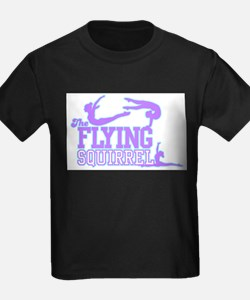 The Flying Squirrel (Purple) T-Shirt
