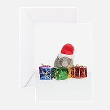 Santa Rufus PortraitGreeting Cards (Pk of 10)