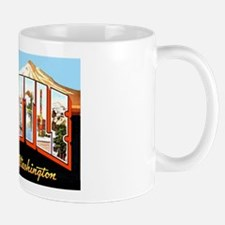 Seattle Washington Greetings Mug
