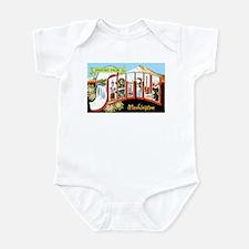 Seattle Washington Greetings Infant Bodysuit
