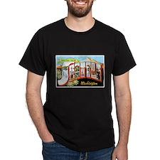 Seattle Washington Greetings (Front) T-Shirt