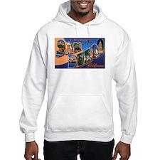 San Diego California Greetings (Front) Hoodie