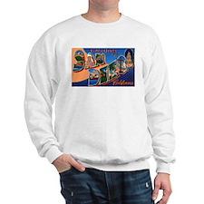 San Diego California Greetings Sweatshirt