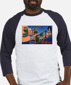 San Diego California Greetings (Front) Baseball Je