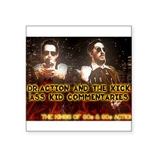 Doc and Kid Action Kings Sticker