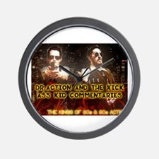 Doc and Kid Action Kings Wall Clock