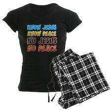 KnowJesus copy Pajamas