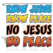 KnowJesus copy Shower Curtain