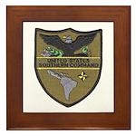 USSOUTHCOM Framed Tile