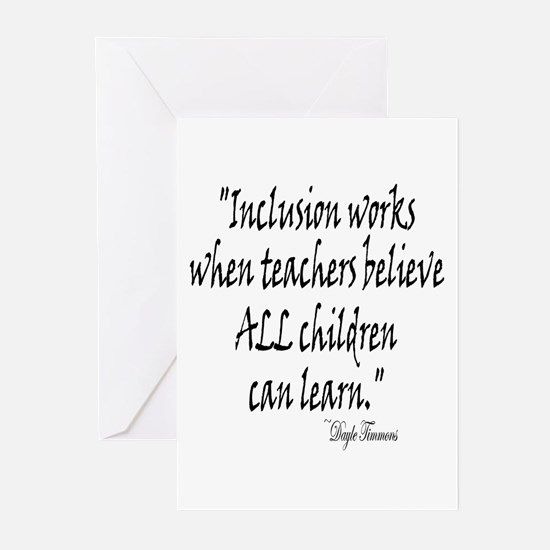 Inclusion Works Greeting Cards (Pk of 10)