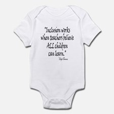 Inclusion Works Infant Bodysuit