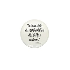 Inclusion Works Mini Button (100 pack)