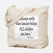 Inclusion Works Tote Bag