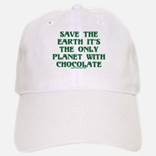 Save the Earth It's the Only Baseball Baseball Cap