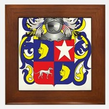 Esteban Coat of Arms Framed Tile