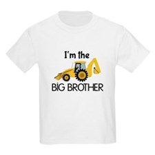 Im the Big Brother Backhoe Construction T-Shirt