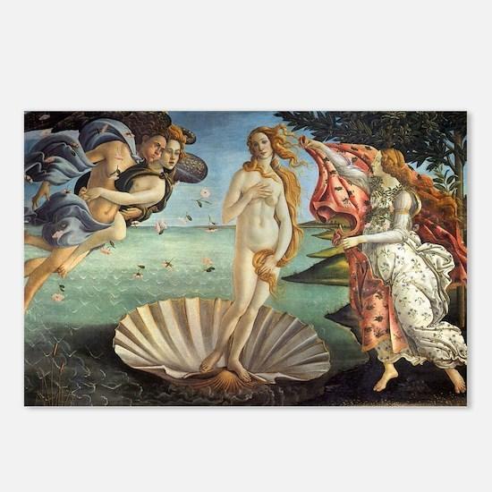 Birth of Venus by Bottice Postcards (Package of 8)