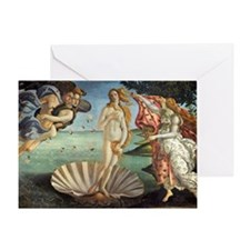 Birth of Venus by Botticelli Greeting Card