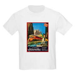 Hiawatha, 1952 Kids T-Shirt